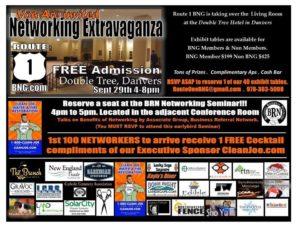 networking event flier